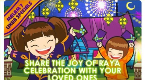 Share the Joy of Raya with The Cube