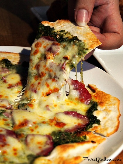 cilantro pizza