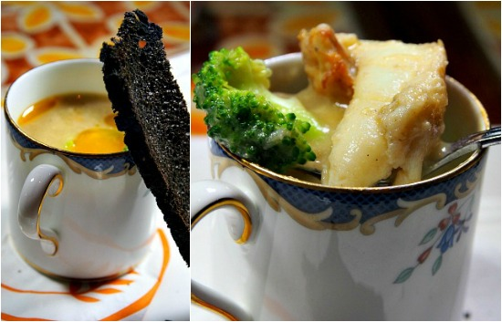 broccoli soup Collage