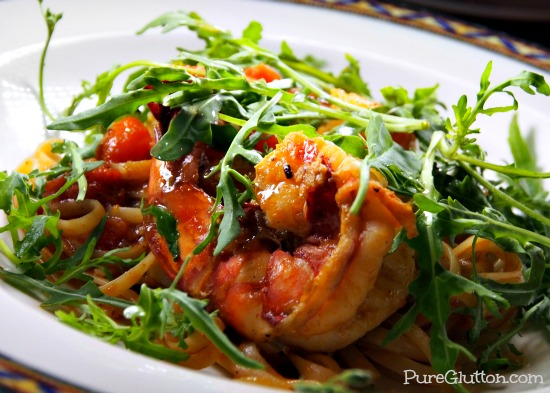 linguine king prawns