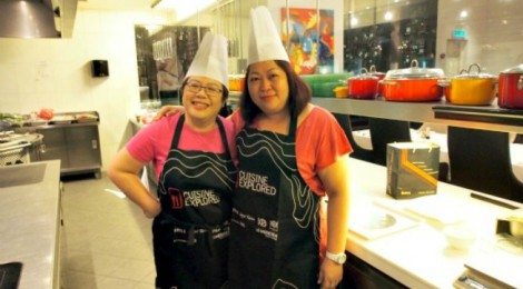 Cuisine Explored!  I cooked in the kitchen of Prime @ Le Meridien Kuala Lumpur