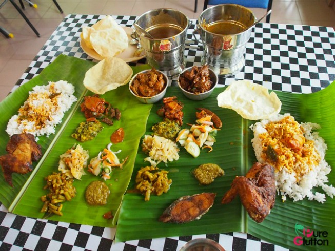 Banana Leaf Rice in UMAC