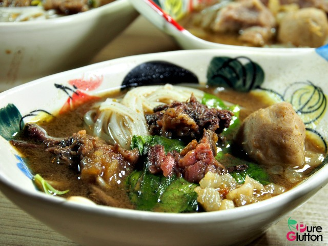 BOAT NOODLES WITH BRAISED MEAT