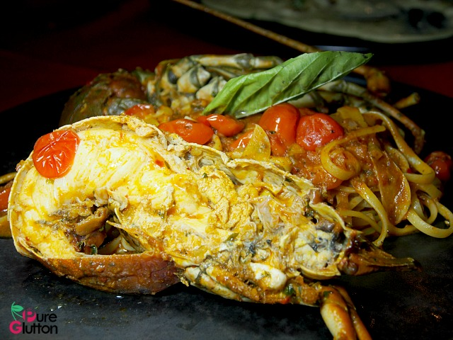 LINGUINE WITH BABY LOBSTER