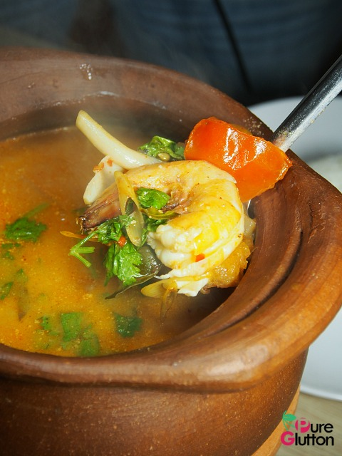PIPING HOT & FIERY TOM YUM GOONG