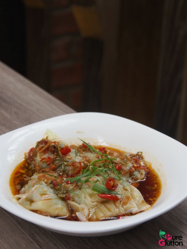 spicy dumplings