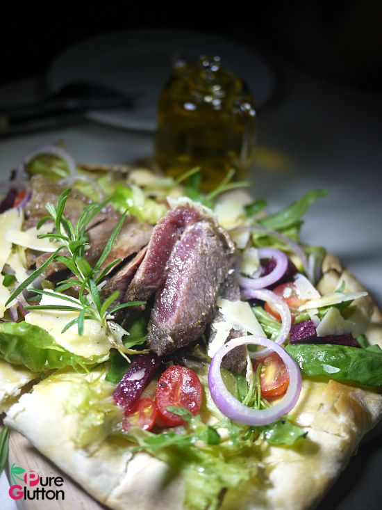flatbread salad