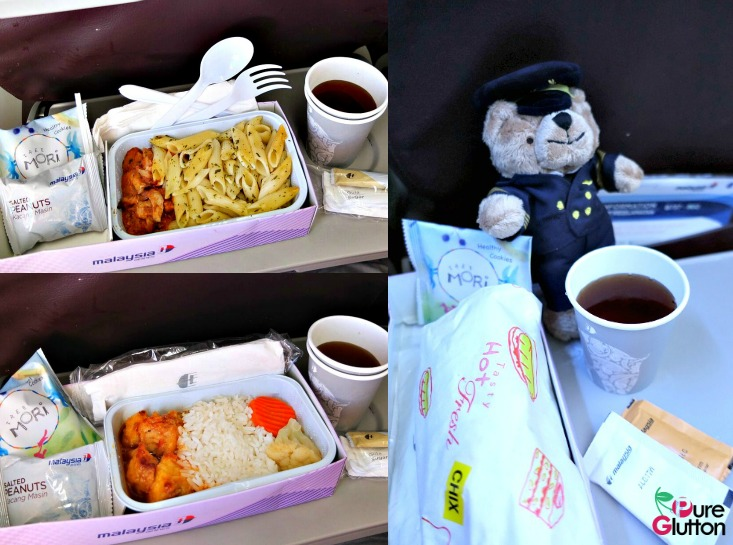 Flight Food Collage