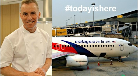 Cooking with Celebrity Chef GARY RHODES & Celebrating GREAT Food with MALAYSIA AIRLINES
