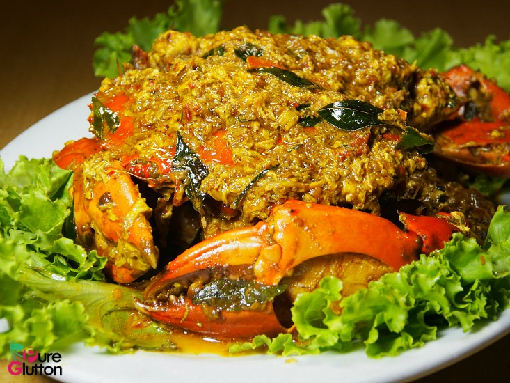Thai-style Curry Crabs