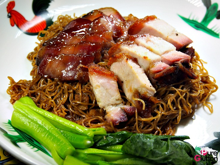 Wantan Noodles with Char Siew