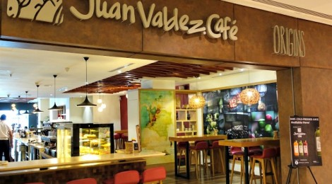 JUAN VALDEZ CAFE @ The Intermark – indulge in Colombian coffee here!