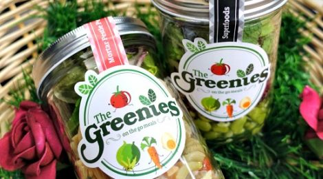Here comes THE GREENIES for healthier meal options!