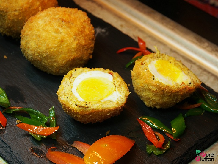rendang scotch eggs