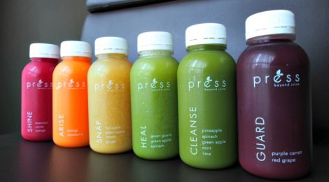 PRESS BEYOND JUICE: cold-pressed juices to your doorstep!