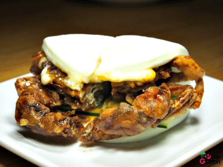 softshell crab bun