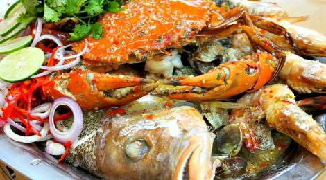 Crabbing out at FEI FEI CRAB RESTAURANT, Damansara Jaya