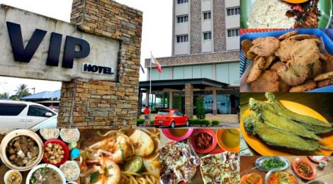 Start your SEGAMAT FOOD TRAIL at VIP HOTEL!