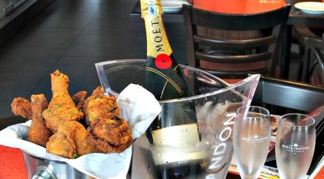 Fried Chicken & Champagne @ MONTE'S, Bangsar Shopping Centre
