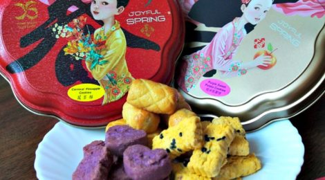 Festive CNY Cookies & Cakes from YONG SHENG CONFECTIONERY