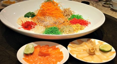 Let's Toss for Prosperity at EE CHINESE CUISINE, Eastin Hotel Kuala Lumpur