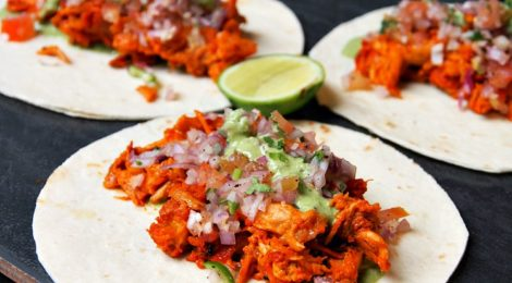 MEAT THE PORKERS:  Soft Shell Tacos and more!