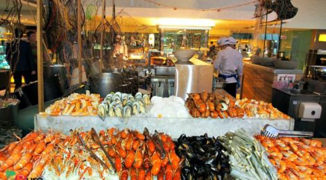 BUCKED OUT SEAFOOD FEAST at GOBO CHIT CHAT, Traders Hotel Kuala Lumpur